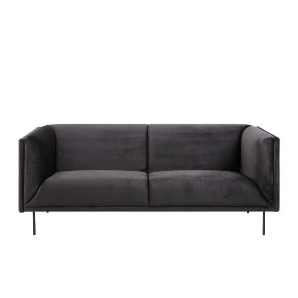 Antracytowa 3-osobowa sofa Actona Nevada