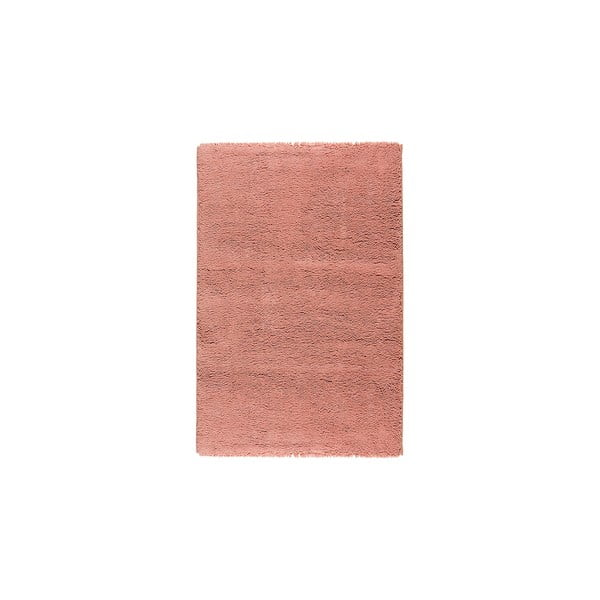 Vlněný koberec Pradera, 90x160 cm, lososový