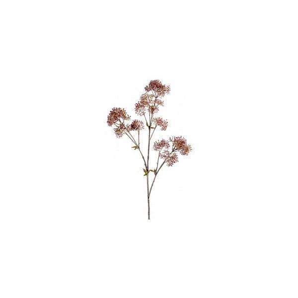 Umělá květina Skimmie, růžová
