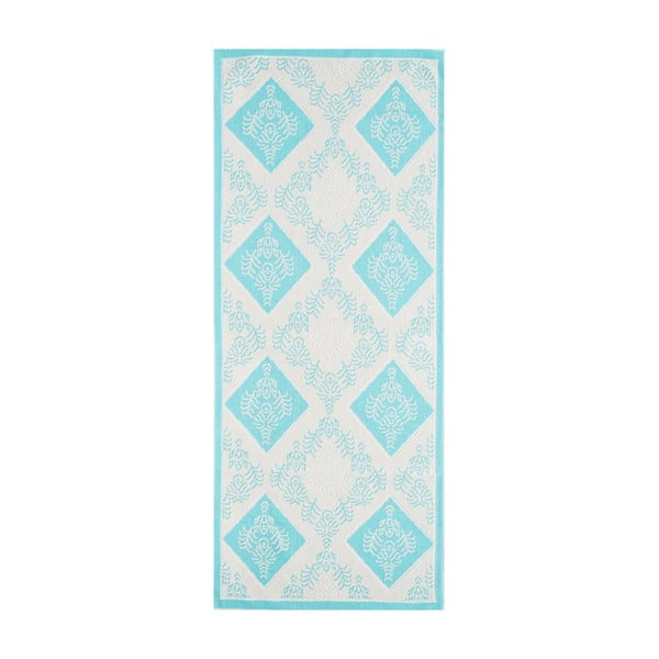 Modrý odolný koberec Vitaus Azalea, 80x150cm