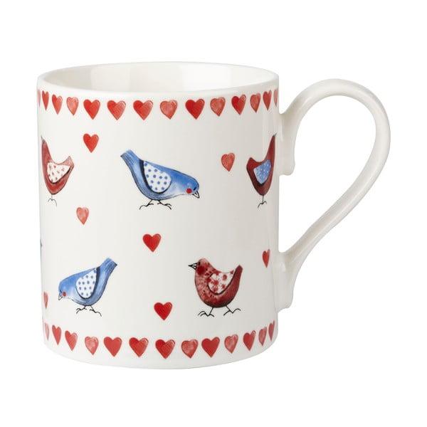 Dárková sada 4 hrnků Lovebirds