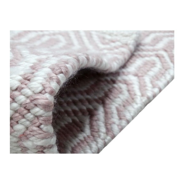 Koberec Spring 60x90 cm, růžový