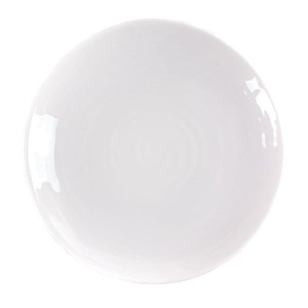 Talíř Earth 27 cm, bílý