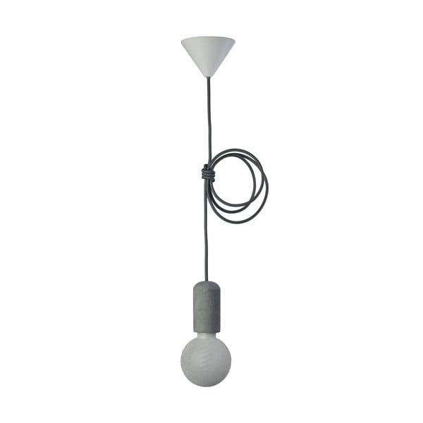 Tmavě šedé svítidlo od Jakuba Velínského, 1,2 m