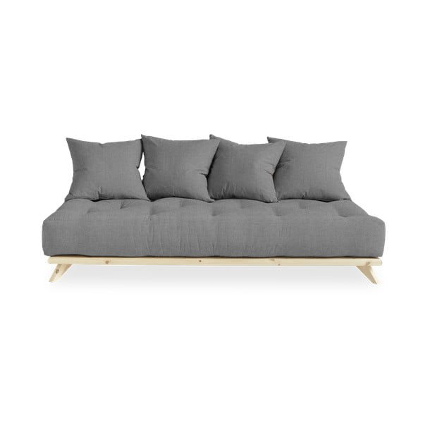 Sofa z szarym obiciem Karup Design Senza Natural Natural/Granite Grey