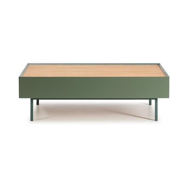 Zelený konferenčný stolík Teulat Arista