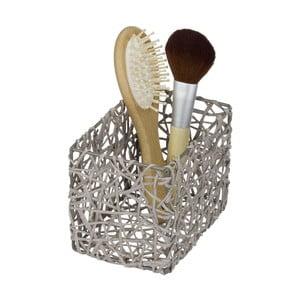 Šedý koupelnový košík Wenko Curly