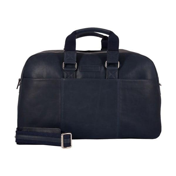Pánská cestovní taška Vintage Overnight Ocean Blue