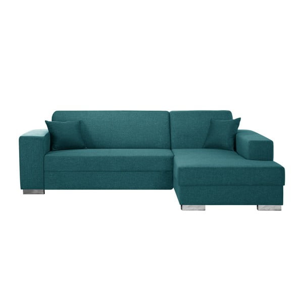 Tyrkysově modrá sedačka Interieur De Famille Paris Bijou, pravý roh