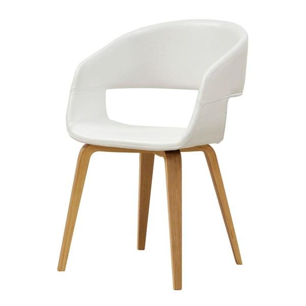 Bílá jídelní židle Interstil Nova Nature