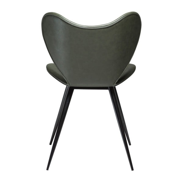 Zelená koženková židle DAN-FORM Denmark Dreamer