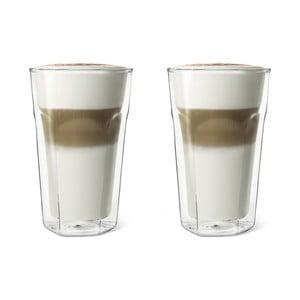 Set 2 pahare cu pereți dubli Bredemeijer Latte Macchiato, 350 ml