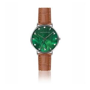 Dámské hodinky s hnědým páskem z pravé kůže Emily Westwood Grace
