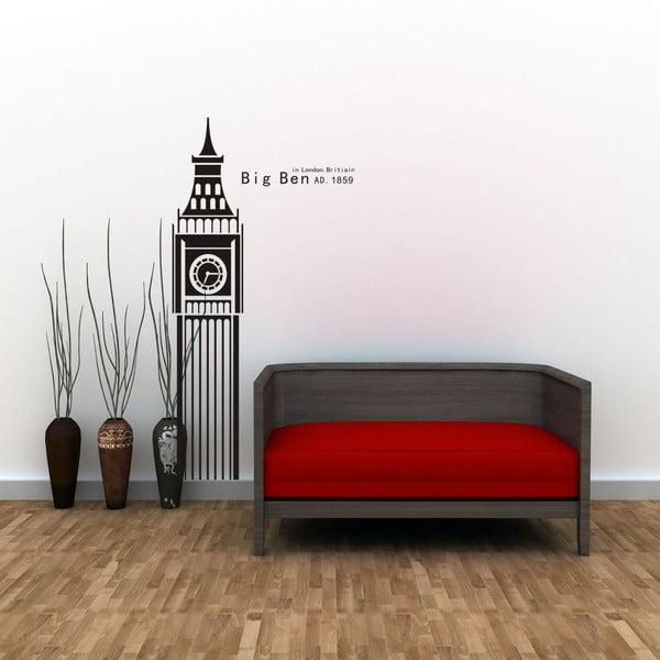 Dekorativní samolepka Big Ben, 100x50 cm