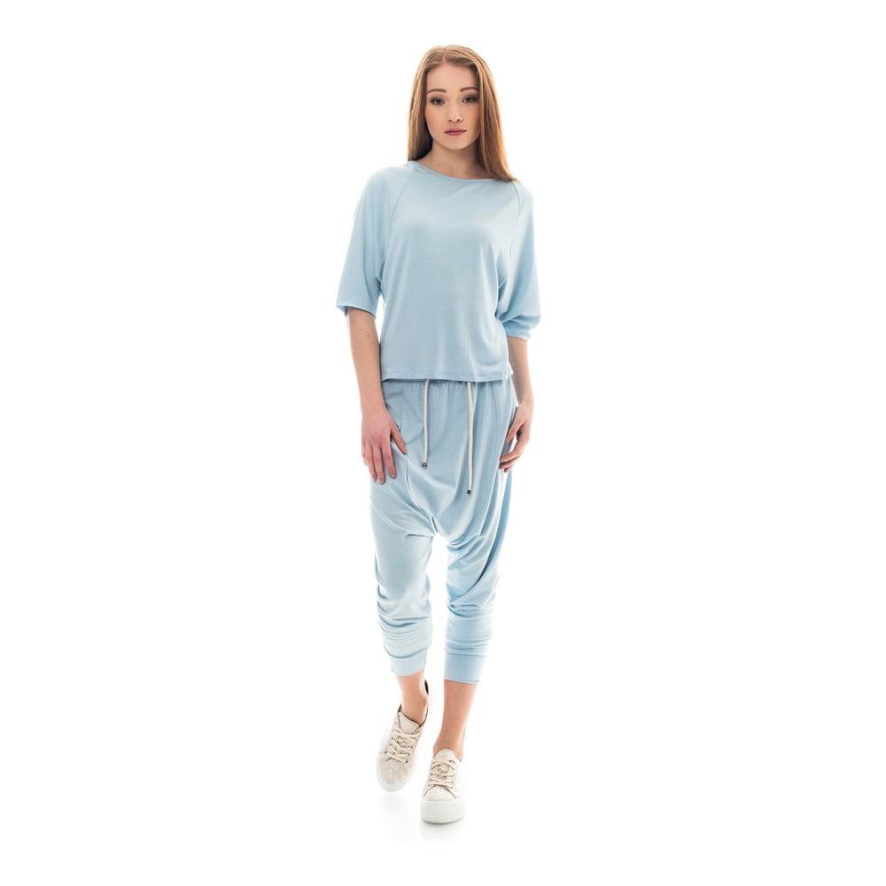 XS · Světle modré tepláky Lull Loungewear Bronx ff348f9150