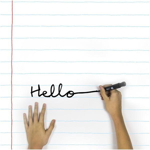 Popisovací samolepka Notebook