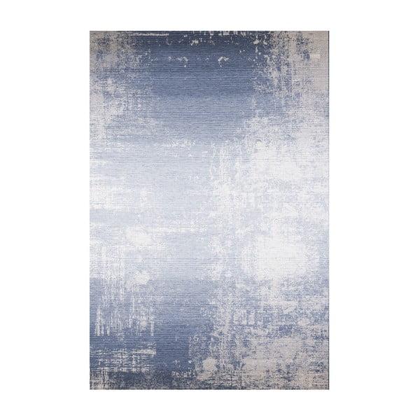 Modrý koberec Kate Louise, 80x150cm