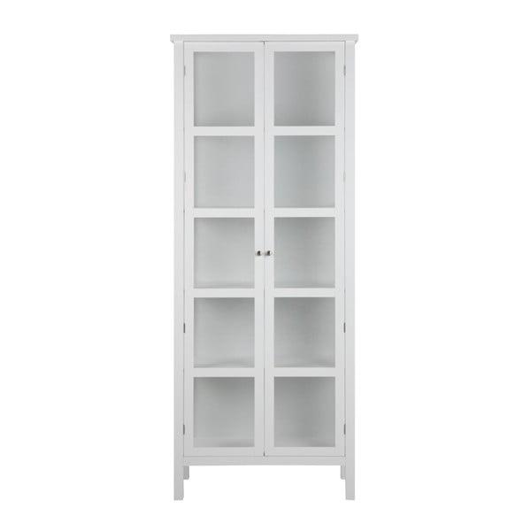 Biała witryna Actona Eton, wys. 210 cm