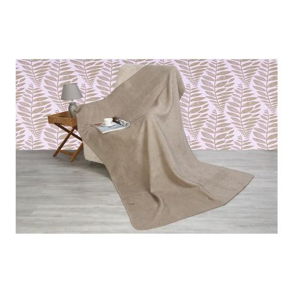Bavlněná deka Santas Smooth Vizon, 200x150cm