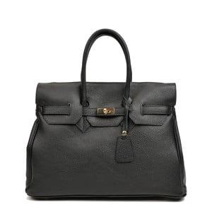 Černá kožená kabelka Roberta M Alice Maria