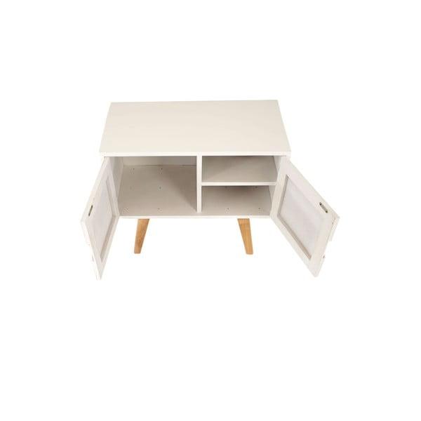 Menší komoda Vaasa White, 60x55 cm