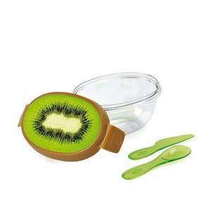 Cutie pentru kiwi cu tacâmuri Snips Kiwi Fruit