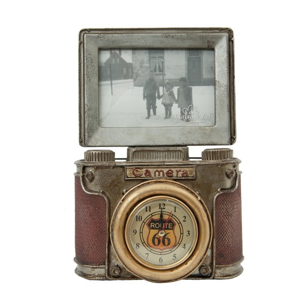 Stolní lampička Clayre&Eef Vintage Camera