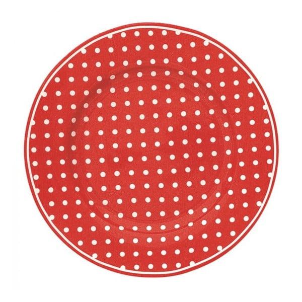 Talíř Spot Red, 20,5 cm