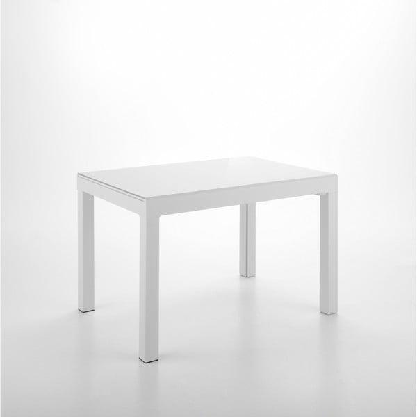 Biały rozkładany stół do jadalni Design Twist Jeddah