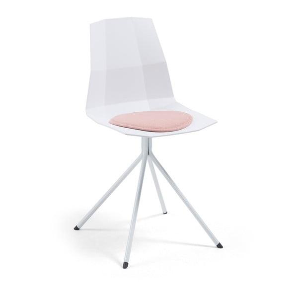 Sada 2 bílých židlí La Forma Pixel