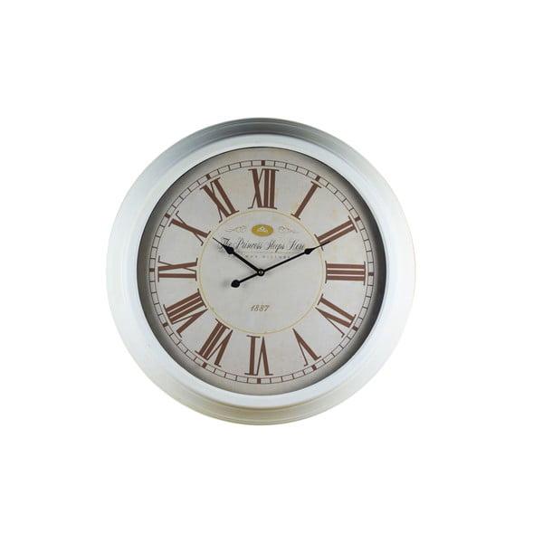 Nástěnné hodiny White Flair, 67 cm