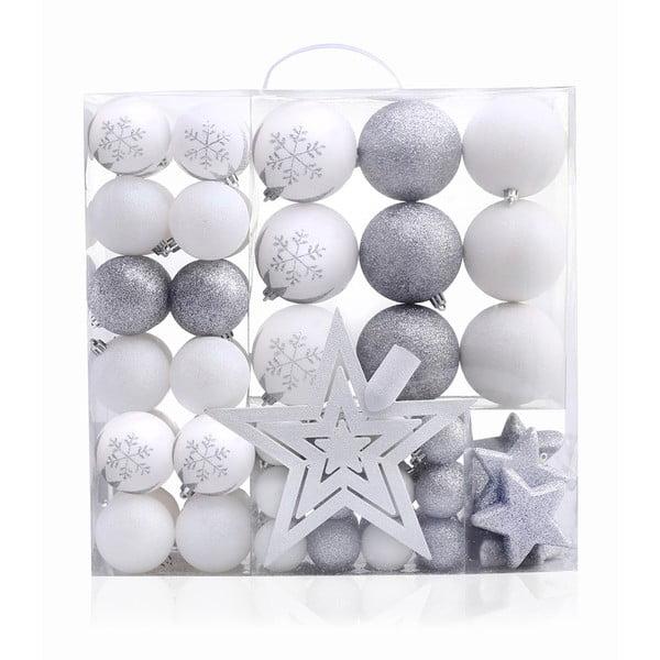 Zestaw 76 ozdób świątecznych DecoKing Lux