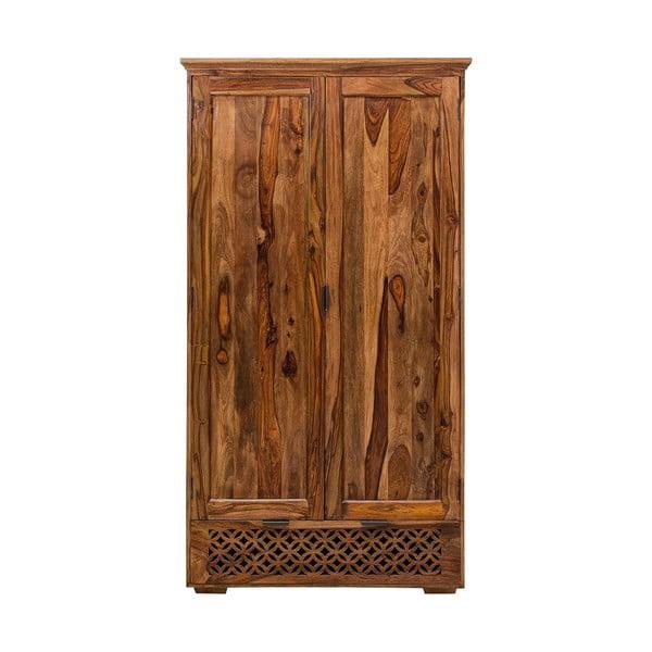 Skřín z masivního palisandrového dřeva Massive Home Rosie, 120x200cm