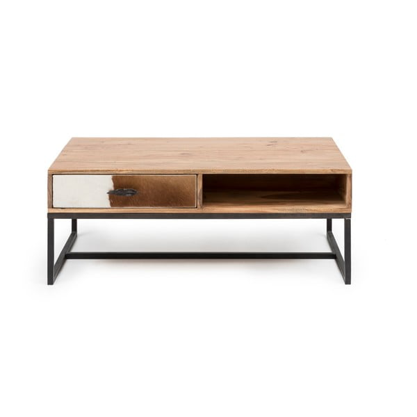 Konferenční stolek z akáciového dřeva WOOX LIVING Botario, 60x100cm
