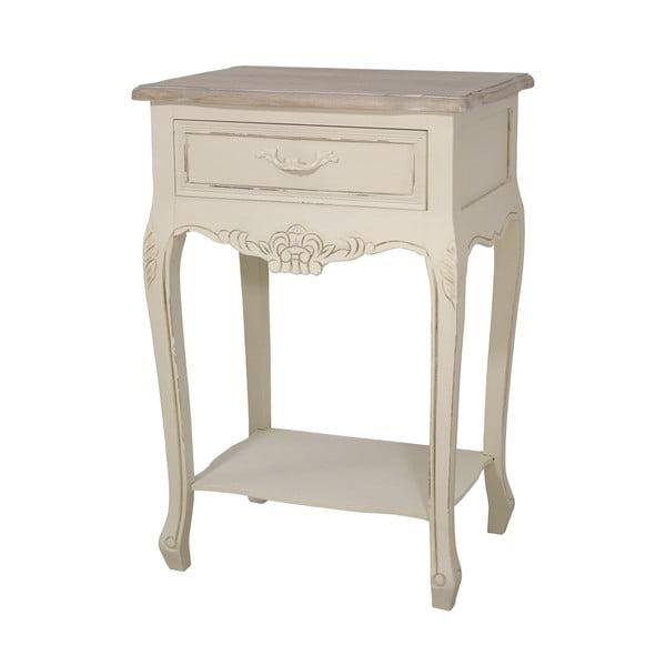 Nočný stolík z topoľového dreva Livin Hill Savona Duo