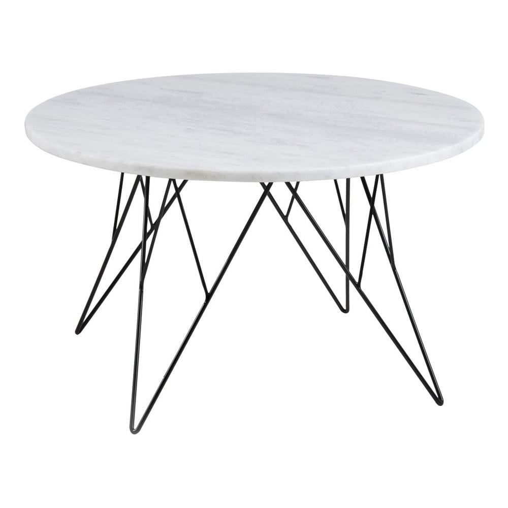Bílý konferenční stolek Actona Prunus