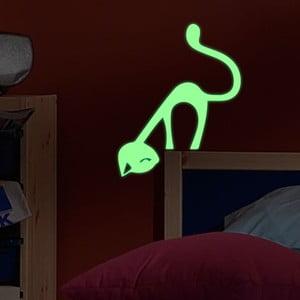 Svítící samolepka Fanastick Cute Cat
