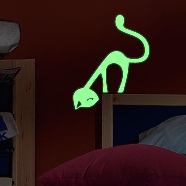 Naklejka świecąca Ambiance Cute Cat