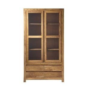 Dulap din lemn de palisandru cu vitrină Massive Home Heri