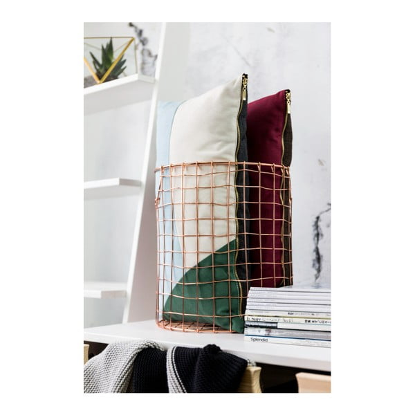 Sada 2 polštářů s výplní Karup Deco Cushion Pattern/Dark Grey,45 x 25 cm