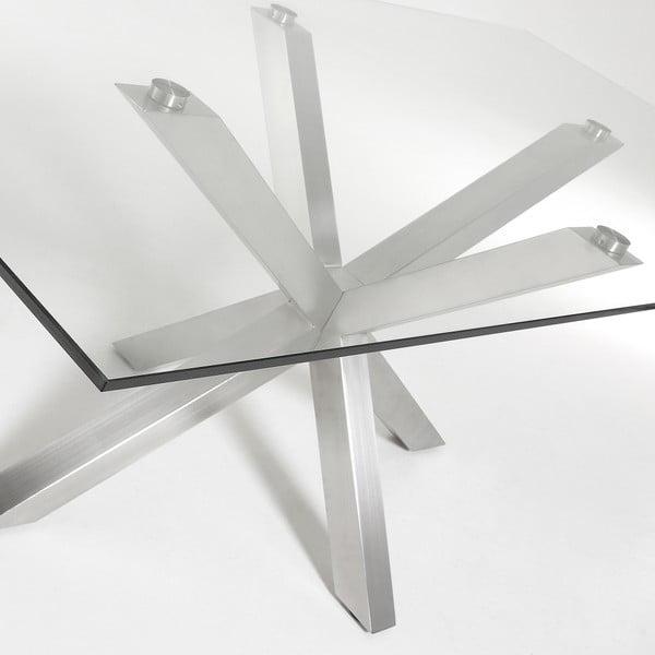 Jídelní stůl s kovovým podnožím La Forma Arya,délka160cm