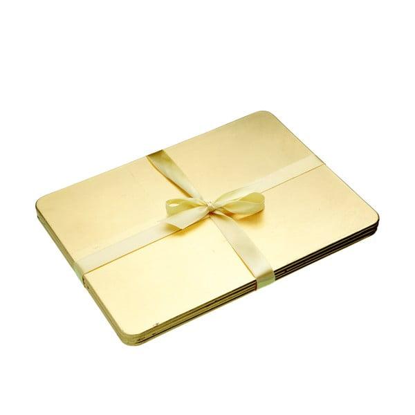 Prostírání Merry Little Christmas Gold, 4 ks