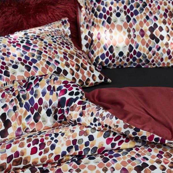Povlečení Essenza Lilah, 200x200 cm, červené