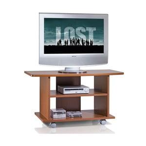 Televizní stolek na kolečkách TV Cabinet, třešeň