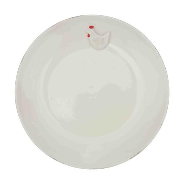 Talerz ceramiczny Antic Line Hen, Ø 24 cm