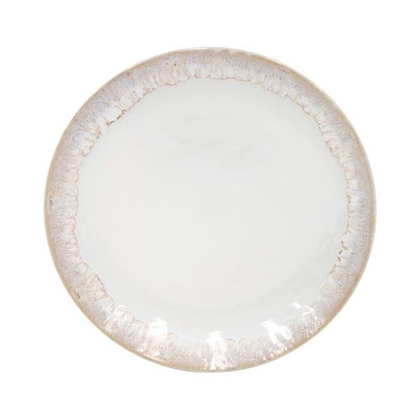 Biely kameninový dezertný tanier Casafina Taormina, ⌀ 16,7 cm