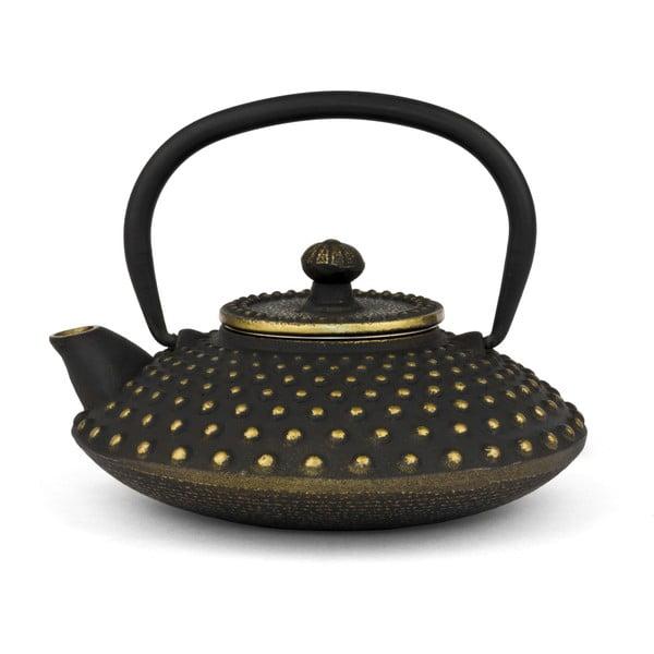 Konvice Ming, 0,5 litru, černo-zlatá