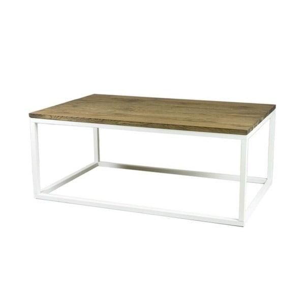 Konferenční stůl Coffee White, 110x70x45 cm