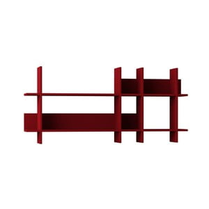 Červený policový díl Homitis Origami