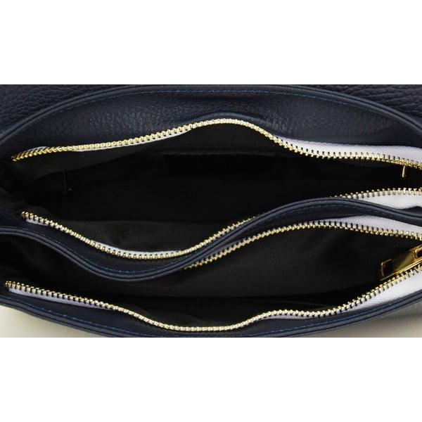 Kožená kabelka Paola Navy/Rosso/Bianco